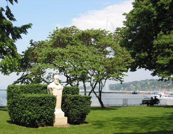Geneve for Jardin anglais histoire